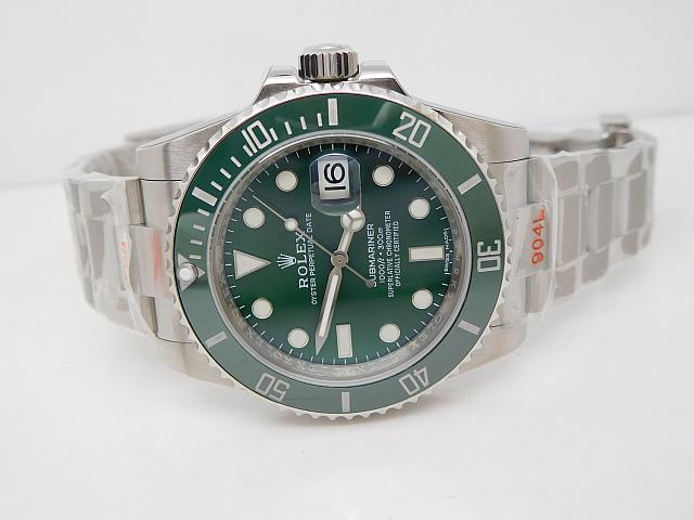 Rolex Submariner replica 116610LV Green Dial