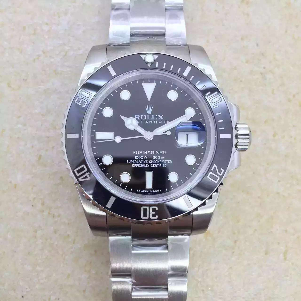 V6s Rolex Submariner 116610 LN Replica
