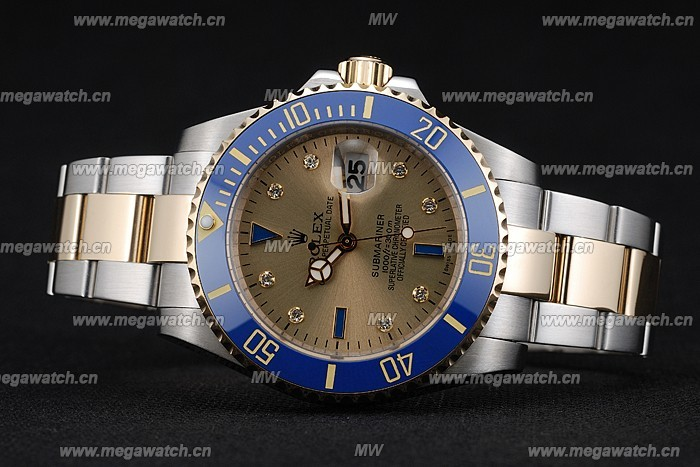 Brushed stainless steel case rolex submariner replica