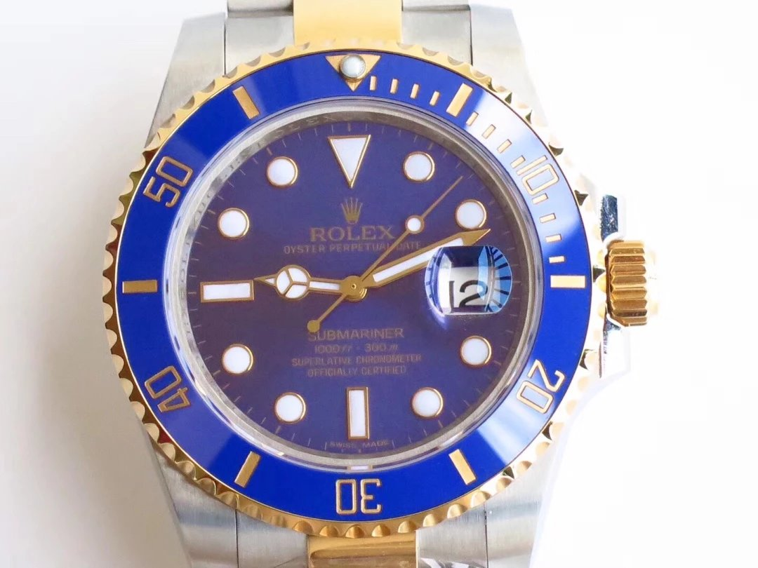 Replica Rolex Submariner 116613 Blue Dial