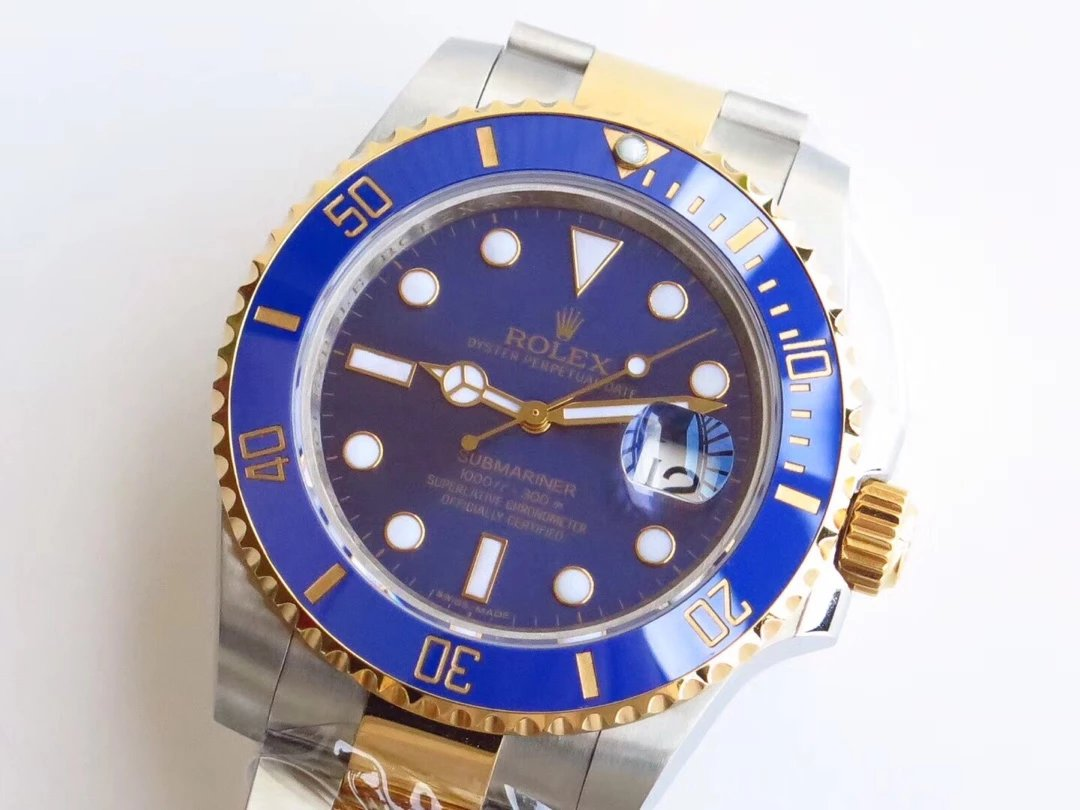 Two Tone Rolex Submariner 116613 Replica